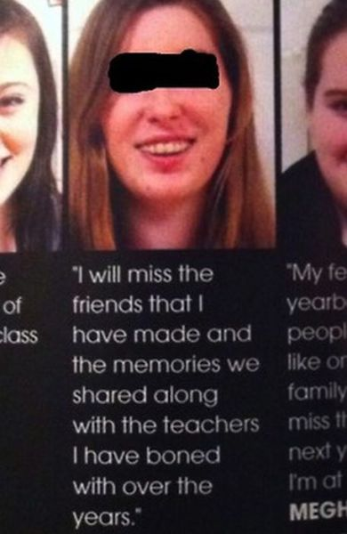 Yearbook Quotes and Pictures That Will Crack You Up
