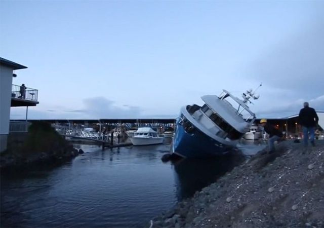 How Not to Sail and Park a $6 Million Yacht
