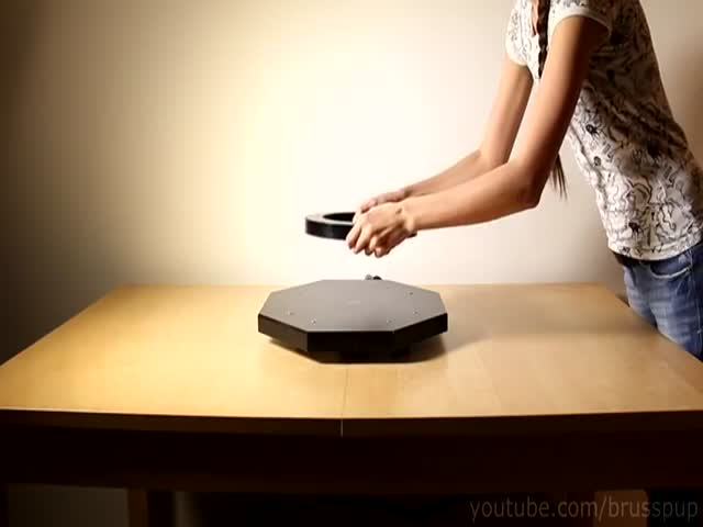 Awesome Magnetic Levitation Device