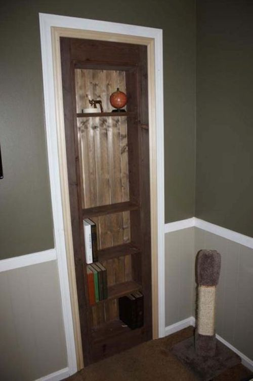 Guy Makes His Own Secret Room