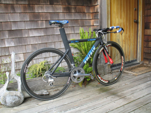 Husband Builds His Wife a Cool Time Trial Bicycle