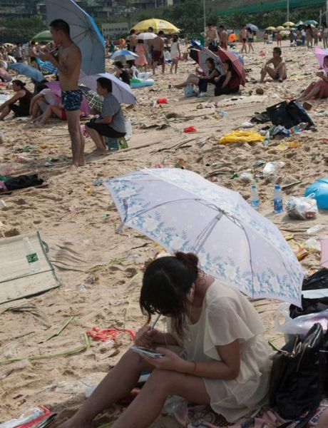 Welcome to the Beach in China