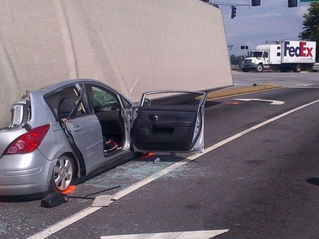 Car vs. Truck with Disastrous Consequences