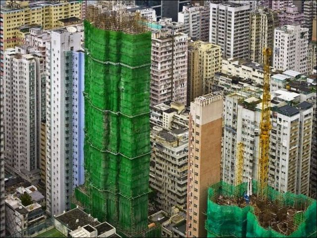 Colorful Building Covers in Singapore