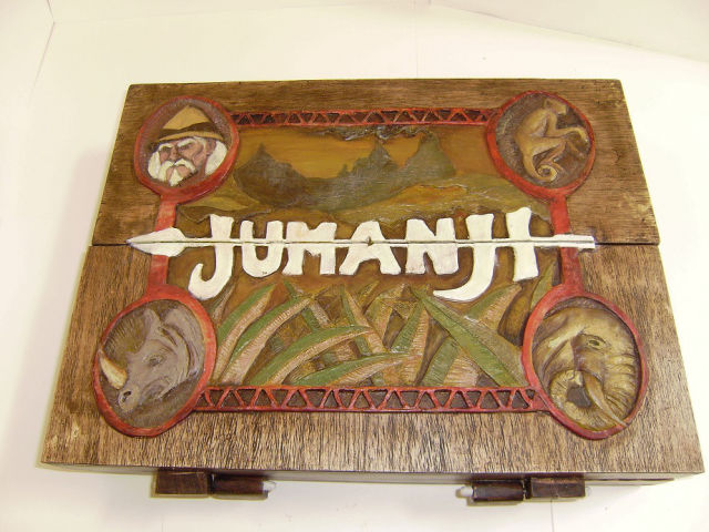 Some Lucky Person Actually Owns This Real, Kick-Ass Jumanji Board