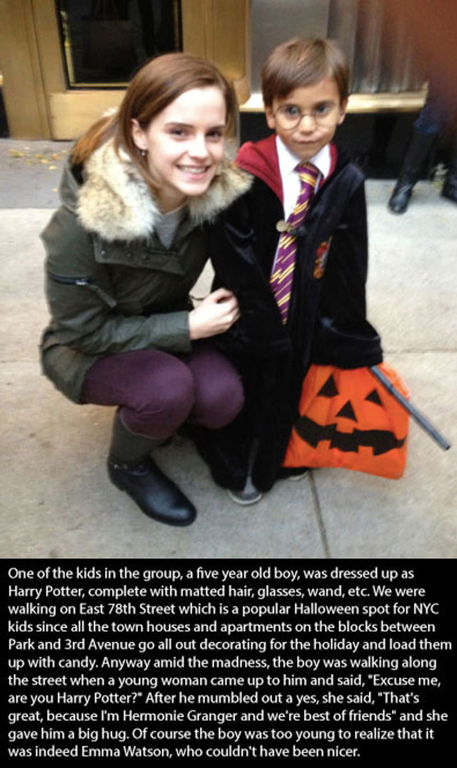 Sweet Stories of Random Acts of Celeb Kindness