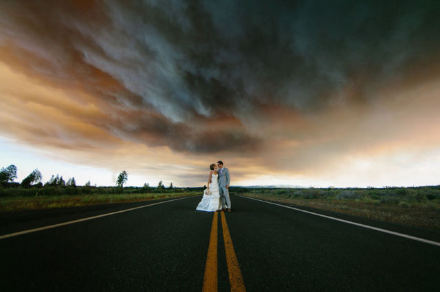A Wedding Photo Shoot with a Difference