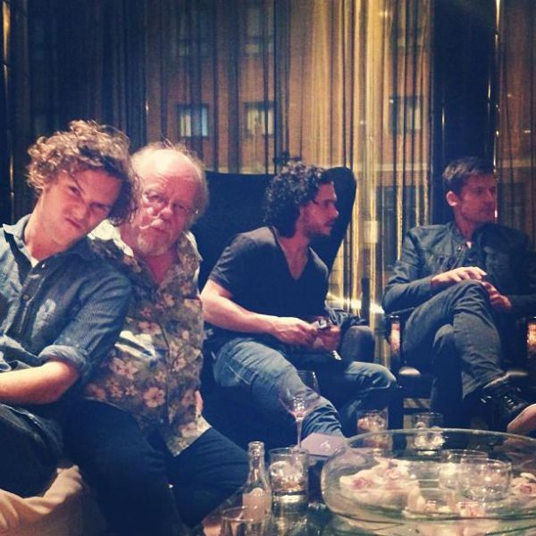 """The """"Game of Thrones"""" Cast Hanging Out in Social Settings"""