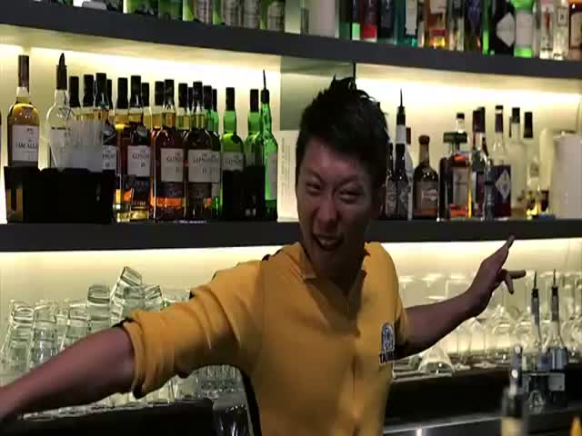 The 'Bruce Lee' of Flair Bartending