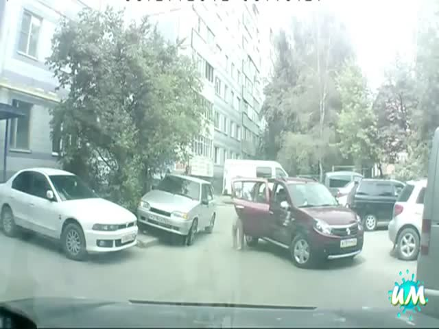 The Ultimate Parking Fails Compilation  (VIDEO)