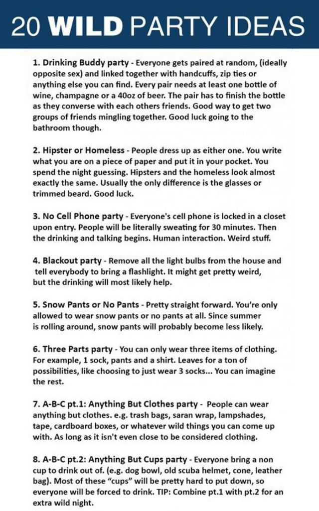 Rock Your Next Party with These Great Ideas