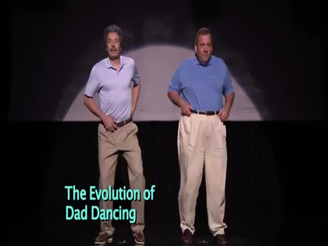 Evolution of Dad Dancing with Governor Chris Christie and Jimmy Fallon