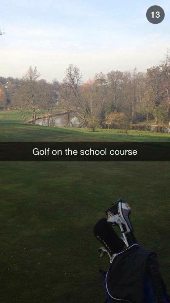 Snapchat Photos of the Richest School Kids around