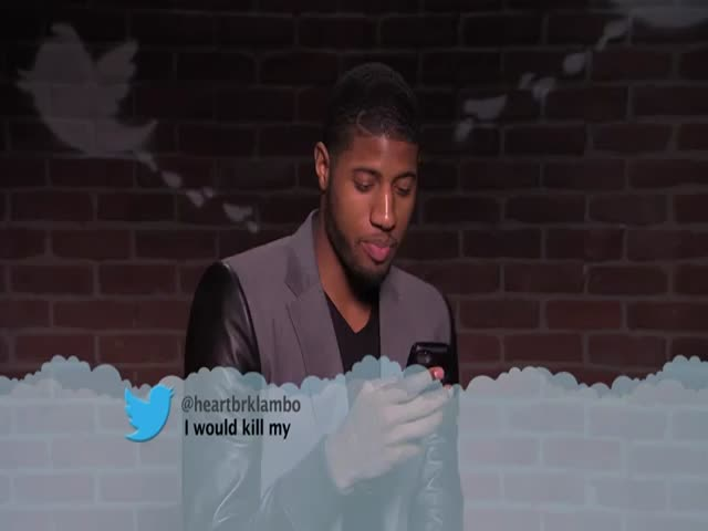 Celebrities Reading Mean Tweets about Themselves - NBA Edition #2  (VIDEO)