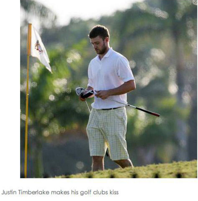Justin Timberlake Doing Random Things