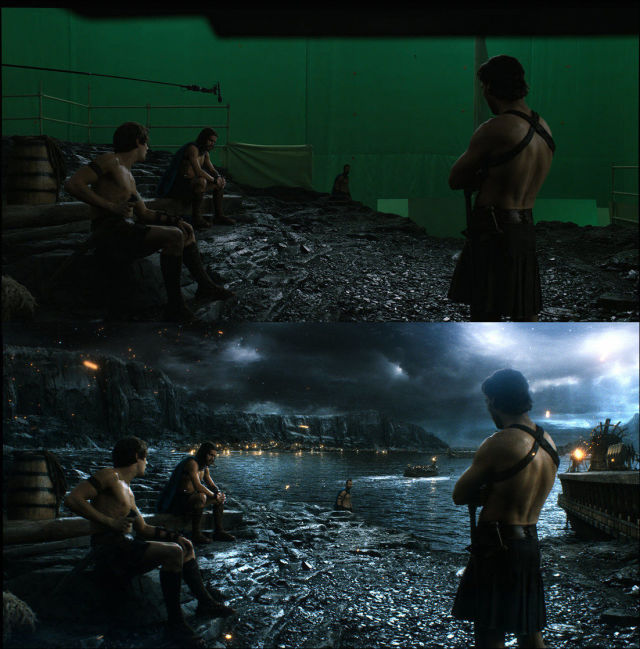 How Great Modern Movie Scenes are Created Using Visual Effects