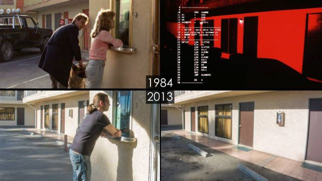 Past vs Present Photos of Well-Known Movie Sets