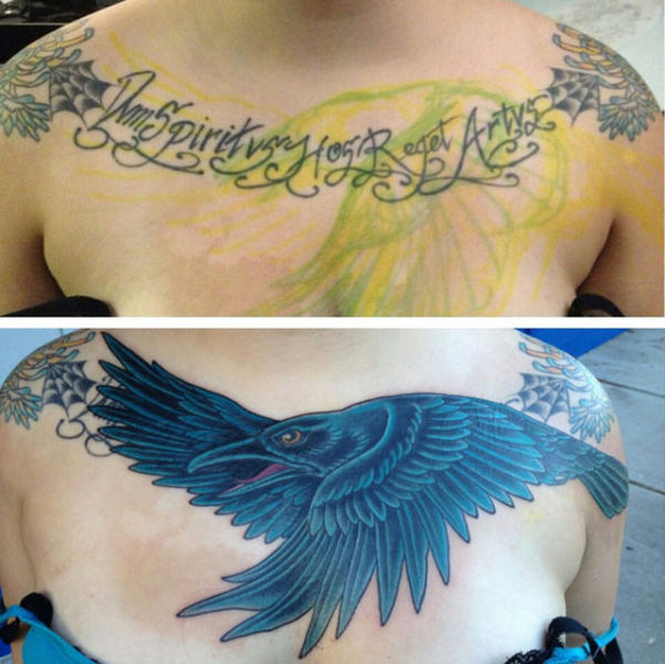 Tired Tattoos Get Awesome Makeovers