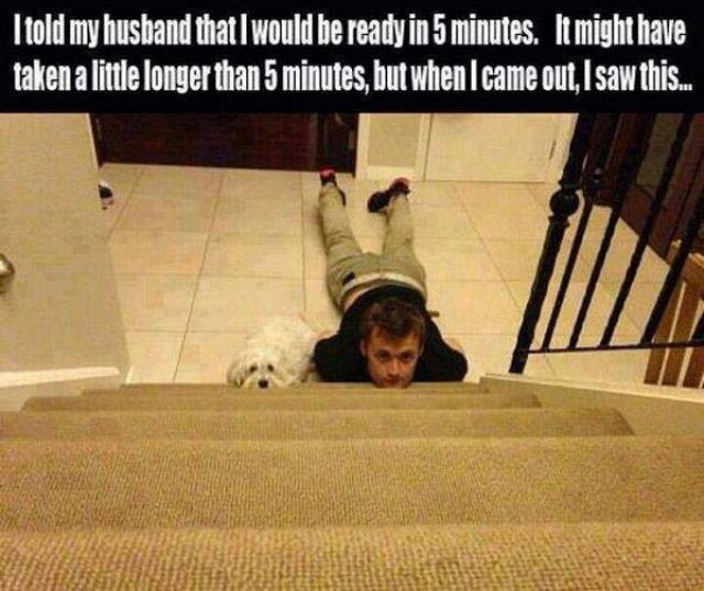 Husbands Are Not Always Handy with the Little Things