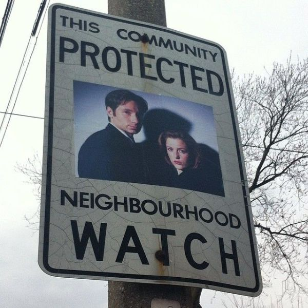 Is Your Neighborhood Watch This Awesome?