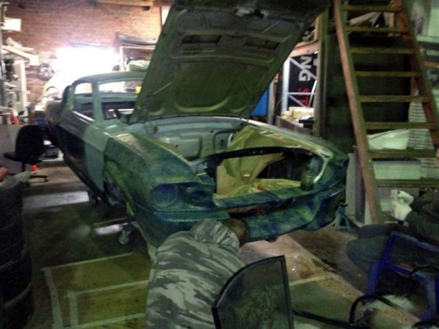 A DIY Ford Mustang Transformation That's Beyond Cool