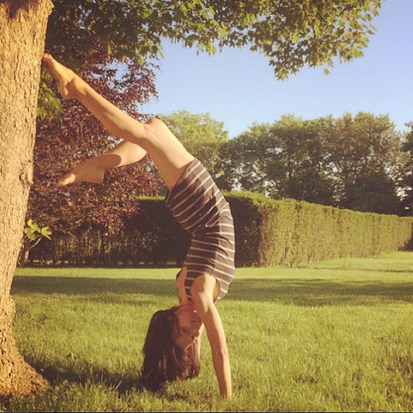 Do You Recognise This Yoga Crazy Celebrity Wife?