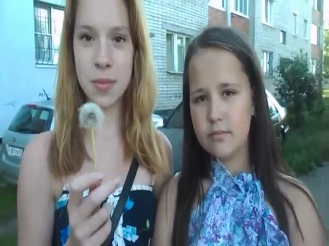 2 Girls, 1 Dandelion  (VIDEO)