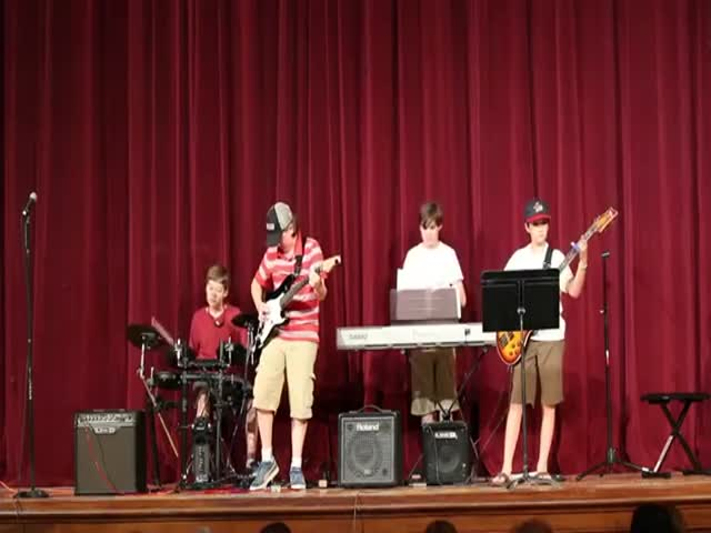Rock Band Recital Fail