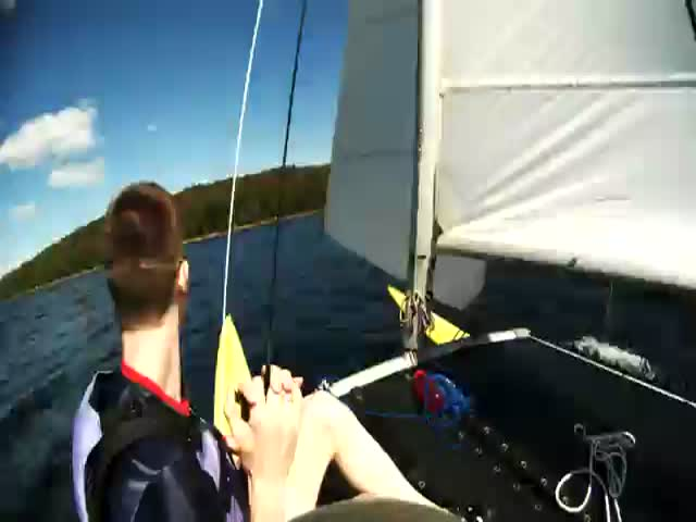 Sailors Rescue Drowning Squirrel