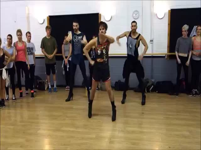 Three Guys in High Heels Dance to Beyonce and Totally Nail It