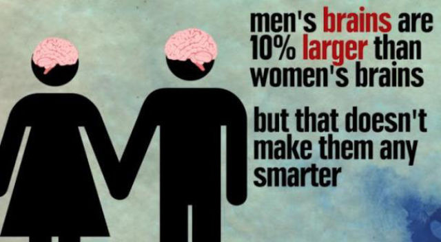 Some True Facts about Men