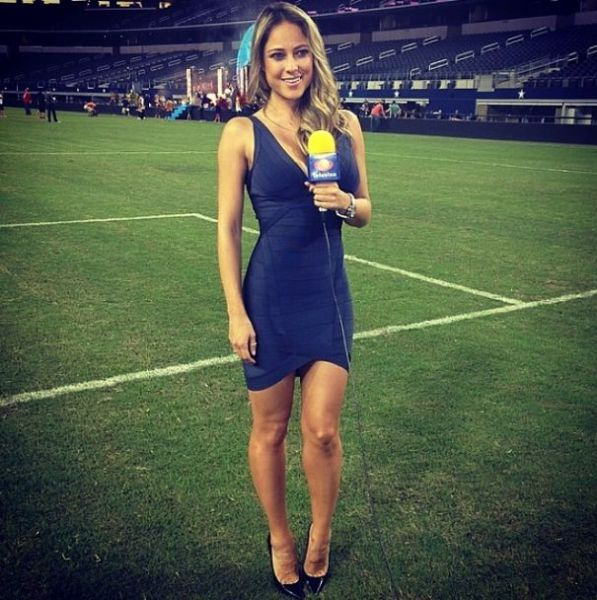 Vanessa Huppenkothe Is Probably the World's Sexiest Reporter