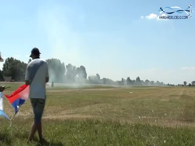 This Pilot Could Mow a Lawn with an Airplane!