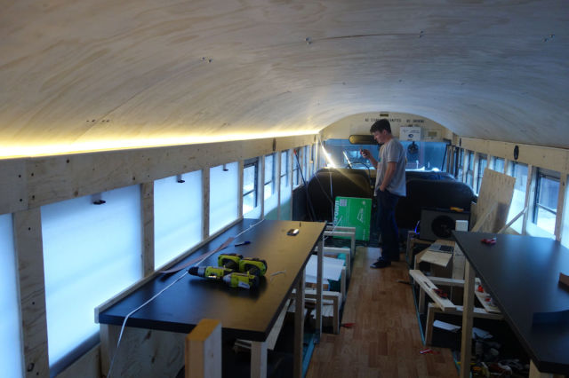 A Bus Conversion That Is Totally Awesome