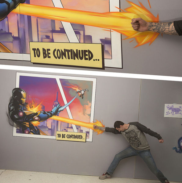 Cool 3D Paintings That Literally Jump Out at You