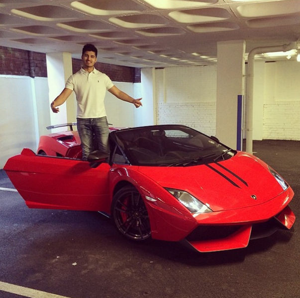 One Instagram Rich Kid's Cool Car Collection
