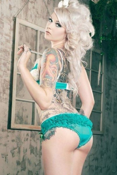 Pretty and Playful Girls with Hardcore Tattoos