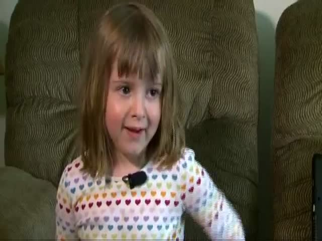 4-Year-Old Girl Foils Babysitter's Robbery Plot  (VIDEO)
