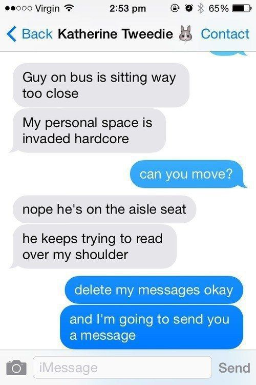 A Quick Way to Make Sure People Stop Reading Your Text Messages