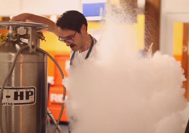 What Happens When You Put Liquid Nitrogen in a Vacuum Chamber