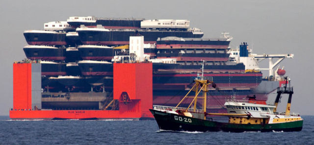 An Impressive Ship Designed to Transport Massive Loads