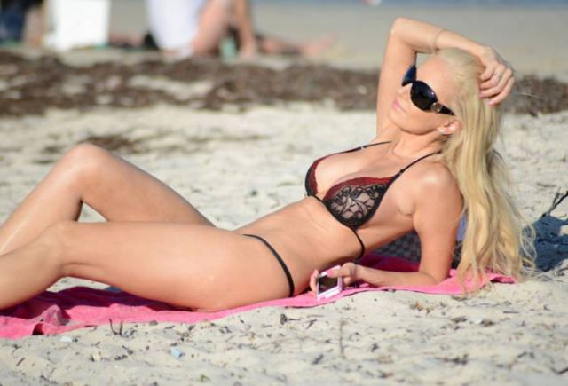 Brazilian Model Leaves Little to the Imagination in String Bikini