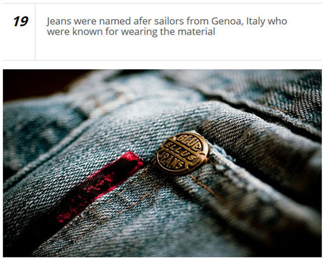 Interesting and Frankly Weird Facts about Clothing