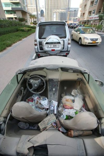Cool Cars That Dubai People Treat Like Trash