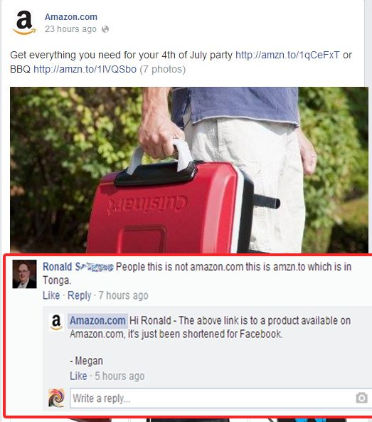 Funny Facebook Comment