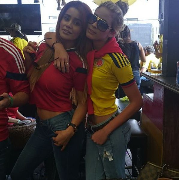 2014's Hottest World Cup Supporters