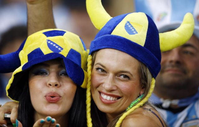 World Cup Fans Show Their Support