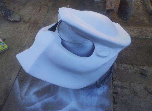 A DIY Predator Helmet That's Wickedly Cool