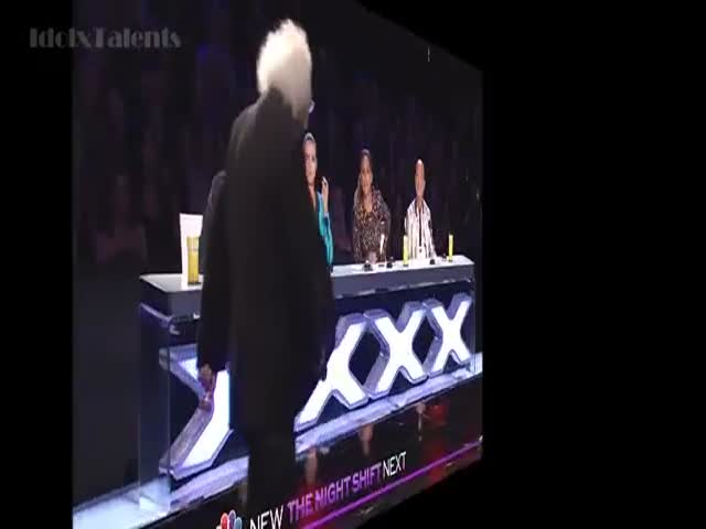 "Old Dude Shocks Everyone on ""America's Got Talent"""