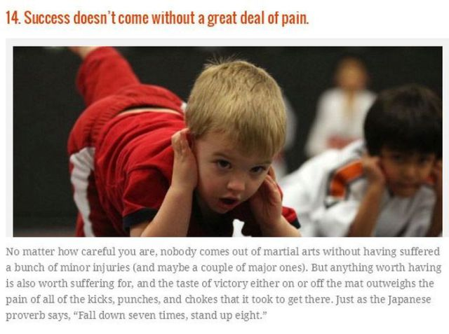 Great Things That Martial Arts Can Teach You